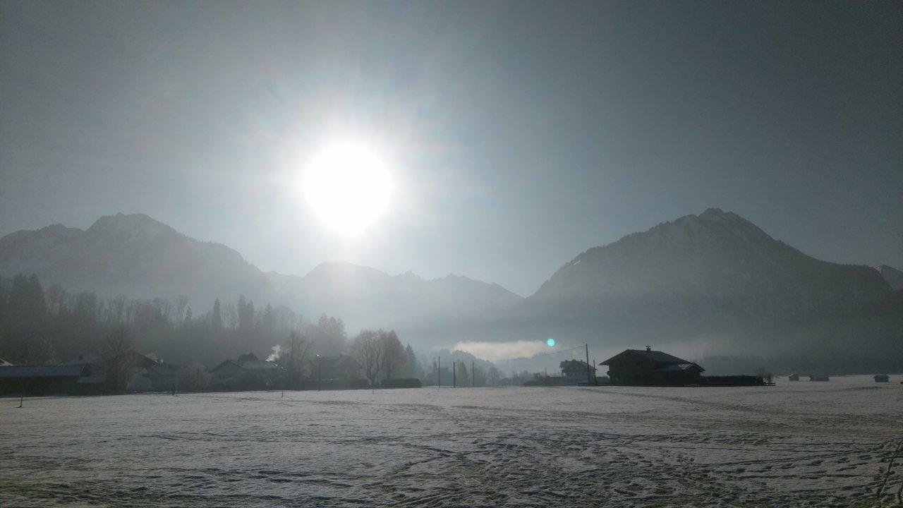 Nebelhorn View